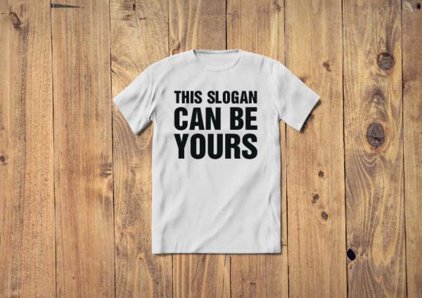 80s Slogan Custom T-Shirts